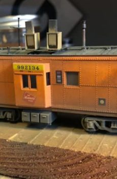 Cabooses and Parts